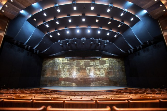 Salzburg festival hall, a world temple in the sound of music