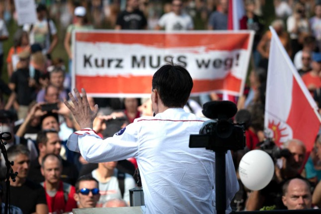 New Covid-sceptic party enters Austrian parliament