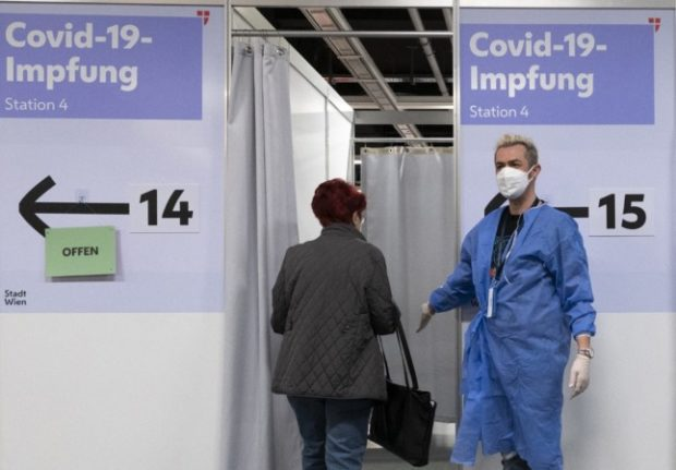 Lockdown for the unvaccinated planned in Austria if Covid cases rise